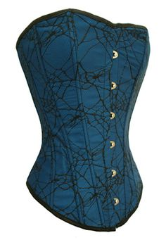 Corset....put this with a nice pair of skinny black jeans, blue platform heels and throw a little jeans jacket over the top and damn, ya got a pretty hot outfit!!