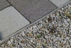 Commercial landscape edging, decking, planters, tiles and decking support systems. Innovative landscape edging and terrace systems. Landscape Edging, Garden Edging, Landscape Solutions, Brick Edging, Resin Bond, Outdoor Projects, Outdoor Decor, Paving Slabs, Pavement