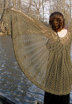 Ravelry: Hearts Vines And Flowers Shawl pattern by Grace Yaskovic