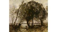 J.B.C Corot - The Lake