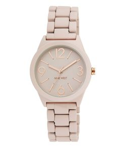 Nine West Women's Quartz Pink Casual Watch (Model: NW/1812PKRG) -- Click image for more details.