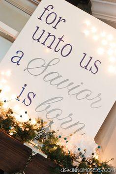 Light Up Christmas Canvas - Ask Anna                              …