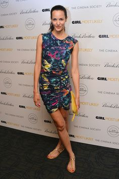 Claudia Mason at the 'Girl Most Likely' Screening in #NYC #model #ClaudiaMason.
