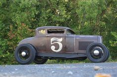 zeeman57: 1930-31 Ford Model A 5-Window Coupe on '32 Ford frame - Hot Rod
