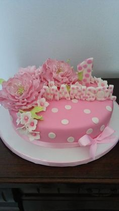 Cake flower  - Cake by Cakemomi
