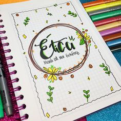 Easy bullet journal Key Ideas - Daily Layout Ideas - Doodle Inspiration - Bullet Journal Page Ideas - Meal Planning Ideas - Travel Tracker - Fitness Tracker Decorate Notebook, Diy Notebook, Notebook Covers, Stabilo Boss, Bullet Journal School, School Notebooks, Cute Notes, School Notes, Daily Activities