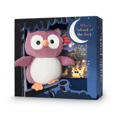 Who the owl gift set mauve