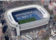 Santiago Bernabeu Football Stadium, home to Real Madrid Football Madrid, Spain Football, Best Football Team, Soccer Stadium, Football Stadiums, Santiago Bernabeu, Football Pictures, Philadelphia Eagles, Manchester United