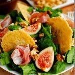 Fig  Frico Prosciutto Salad