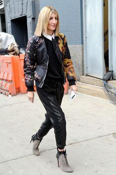 Das sind die 21 am besten gekleideten Frauen der Fashion Week: Sarah Rutson