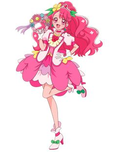January 30 2020 at Pretty Cure, Force Pictures, Anime Character Drawing, Glitter Force, Girls Series, Anime Kawaii, Magical Creatures, Magical Girl, Shoujo