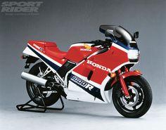 1986 Honda VF1000R #Motorcycle #Sportsbike #Honda