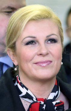 Grabar nackt kolinda Croatian President