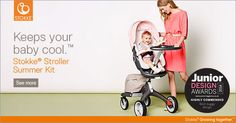 Win a Stokke® Xplory® with Summer Kit worth £1,003 - Competitions - Junior