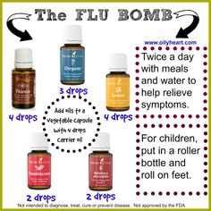 essential oil for flu young living - Google Search