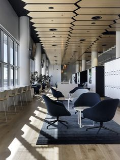 May 2020 - Design Studio See more ideas about Commercial interiors, Corporate interiors and Design. Corporate Office Design, Corporate Interiors, Workplace Design, Office Interiors, Café Restaurant, Architecture Restaurant, Interior Architecture, Design Commercial, Commercial Interiors