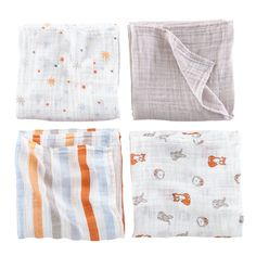 aden + anais Forest Friends Swaddle Blankets | The Land of Nod