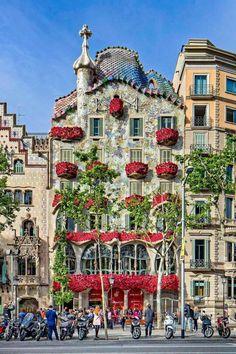 Casa Batlló, Barcelona,  Sant Jordi, 2016