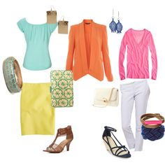 Business & Casual - Orange Blazer for work & play