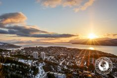 Sunday Snapshot | Sunset Over A Fjord | Narvik, Norway