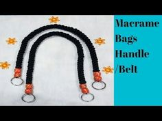 Diy bags handle full making video in hd Hi i am Bonti dey kar,welcome to our channel Macrame craft section. Diy Purse Handles, Macrame Purse, Simple Bags, Micro Macrame, Fibre, Mini Purse, Videos, Two By Two, Beaded Necklace