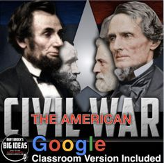 Civil War Unit Bundled covers the birth of the Civil War from the first shots on Fort Sumter to the surrender at Appomattox Court House and the assassination of Abraham Lincoln. This Civil War unit includes Civil War PowerPoints, primary source activity, guided reading worksheet, map activity, warmu... History Lesson Plans, Social Studies Lesson Plans, Teaching Social Studies, Teaching American History, American History Lessons, Teaching History, Map Activities, Guided Reading, Fort Sumter