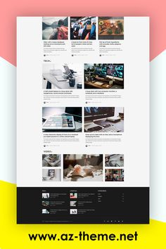 Amagaz is a modern WordPress theme that lets you write articles and blog posts with ease. We offer great support and friendly help! This theme is excellent for a news, newspaper, magazine, or publishing site. Make your content more appealing, engaging and usable. Get Amagaz today and be setup in minutes! #wordpresstheme #blogposts # newspaper