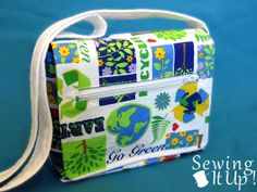 Sewing It Up  Mini Messenger Bag  PDF Instant by SewingItUpShop, $10.00
