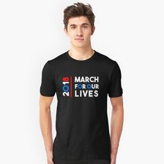 """""""March For Lives March 24 2018 """" Unisex T-Shirt by LisaLiza 