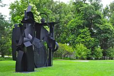 City in the High Mountain 1983 Louise Nevelson Storm King Art Center, Louise Nevelson, Outdoor Sculpture, Cubism, Museum Of Modern Art, Abstract Expressionism, Acre, New York City, Sculptures