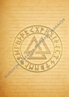 Packet for Book of Shadows or GrimoirePacket 4 Pages by Monterya