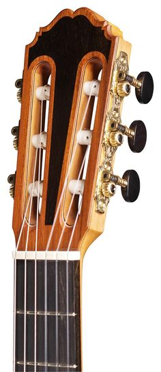 "Classical Guitars - 2014 Kenneth Brogger ""Stradivarius"" SP/CSAR - Guitar Salon International"