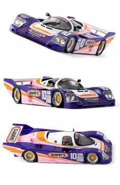 Porsche 962 IMSA nr. 10 24 h. Daytona 1987 Model CA25D. http://www.aloyshop.com/…/8823-porsche-962-imsa-nr-10-24-h-…