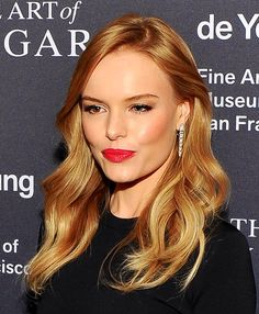 Kate Bosworth-warm golden, honey blonde - New Hair Honey Blonde Hair, Golden Blonde Hair, Kate Bosworth, Warm Red Hair, Hair Color For Fair Skin, Strawberry Blonde, Super Hair, Gorgeous Hair, New Hair
