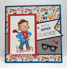 D's Crafty Connection: Super Teacher {SugarPea Designs}