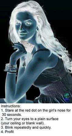 Neon lady