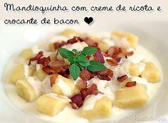 Nhoque de Mandioquinha ~ PANELATERAPIA - Blog de Culinária, Gastronomia e Receitas