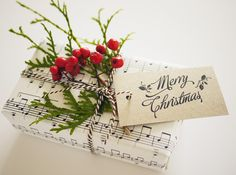 Christmas Gift Tags Free Download by Three Eggs Design