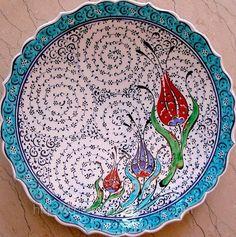 tulip design on the bowl