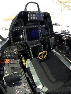 US Military Aircraft Cockpits - Aviation Humor Air Fighter, Fighter Pilot, Fighter Aircraft, Fighter Jets, Us Military Aircraft, Military Jets, Aircraft Interiors, F22 Raptor, Flight Deck