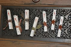 Another Holiday Dollar Store Craft: Snowman Clothespin Magnets « Eyeballs By Day, Crafts By Night