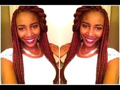 Image result for box braids color 350