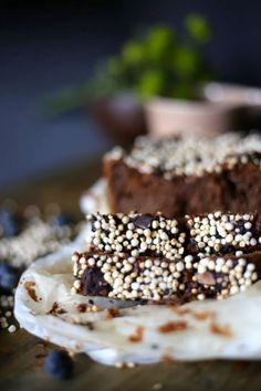 Vegan Desserts, Healthy Recipes, Healthy Food, Foodies, Deserts, Paleo, Sweets, Chocolate, Eat