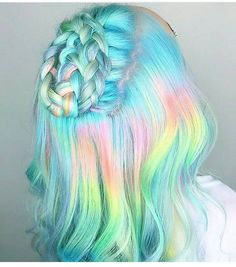 awesome 30 Mermaid Hair Ideas -- Magical Ways To Come Up With Elegant Mermaid Styles