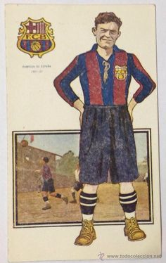 Josep 'Pepe' Planas (14 April 1901 – 9 April 1977), Spanish defender, FC Barcelona (1921-1927, 184 games). He won the 1922, 1925, and 1926 Copa del Rey, until he suffered a knee injury that ended his playing career. Football card Serie A, Nº 10. Champion 1921/1922. Illustration Serra Masana.