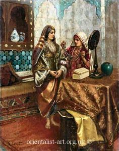Women in Ottoman 16th just a young woman