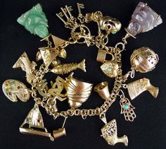 14kt gold charm - Google Search