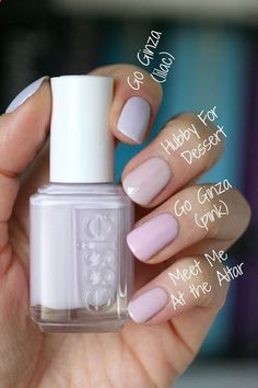 Essie Spring 2013 Madison Ave-Hue Collection : Swatches Comparisons | Essie Envy