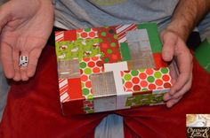Unwrap the Present {Dice and Duct Tape® Game}