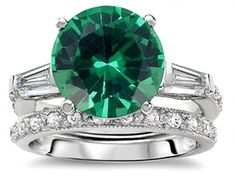 """If I ever get married again, this is the ring I want instead of a diamond. The big word there is """"IF""""."""